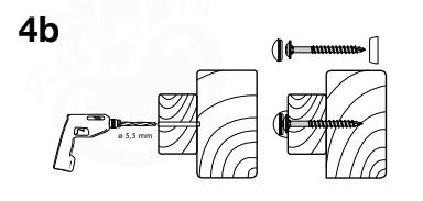 Figuur 4b: Stealth Holzschrauben